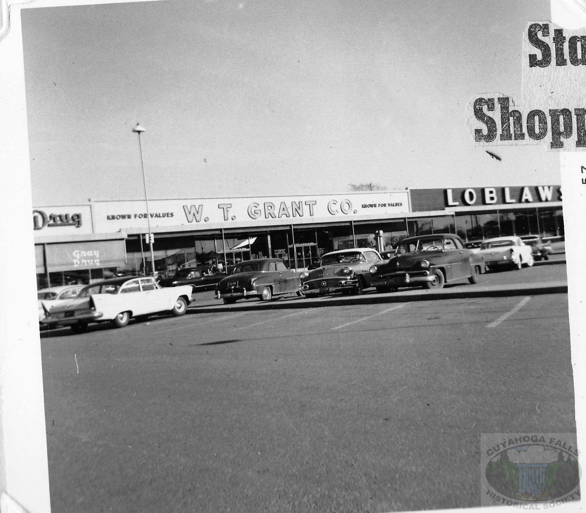 State road shopping center in 1957 cuyahoga falls for Falls motor city cuyahoga falls ohio