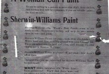 Now Women Can Paint! Advertisement.