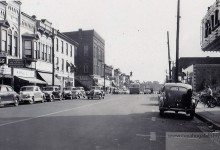 Front Street – 2 Way Traffic Photos – 1940s & 1950s