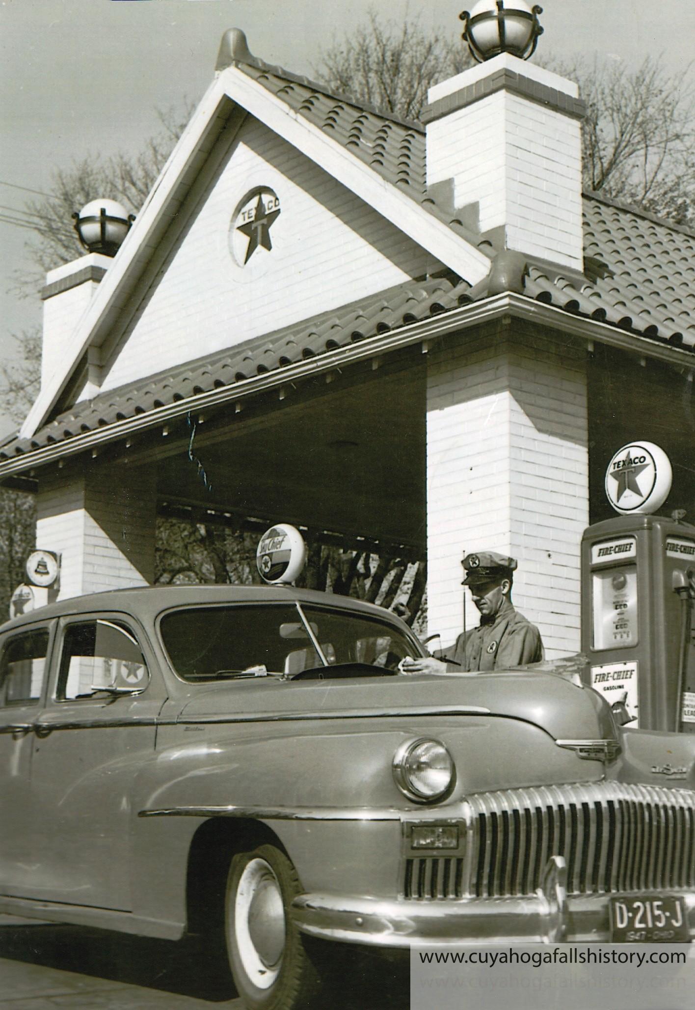 T  E  Kinsey Texaco Station – Cuyahoga Falls Historical Society